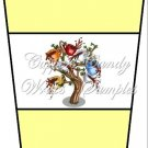 Coffee Tree Yellow ~  Gift Card Holder Latte` Cup