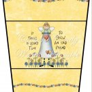 Old Friends ~  Gift Card Holder Latte` Cup