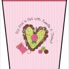 The Soul is Fed Green ~  Gift Card Holder Latte` Cup