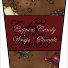 Coffee, Enjoy ~ Gift Card Holder Latte` Cup
