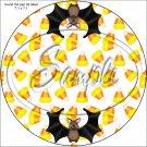 "Bats ~ Halloween ~ 7"" Round Foil Pan Lid Cover"
