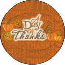 Day of Thanks ~ Cupcake Toppers ~ Set of 1 Dozen