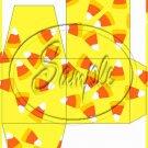 Candy Corn Bats #2 ~ Cupcake Box ~ 1 Dozen