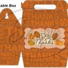 Thanks Thanksgiving ~ Gable Gift or Snack Box