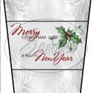 Silver Holly Berry  2 ~ Gift Card Holder Latte` Cup