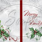 Silver Holly Berry 8 ~ Post It Note ® Cover