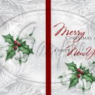 Silver Holly Berry 12 ~ Post It Note ® Cover