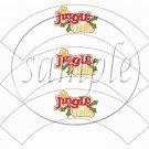Jingle Bells  ~ Cupcake Wrappers ~ Set of 1 Dozen