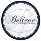 Believe in the Miracle Border  ~ Cupcake Toppers ~ Set of 1 Dozen
