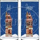 Winter Home ~ Salt & Pepper Shaker Covers Wrappers