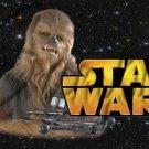 Star Wars Faux Inspired Chewbaca ~  Pint Glass Jar