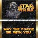 Star Wars Faux Inspired Darth Vader ~ Standard 1.55 oz Candy Bar Wrapper  SOE