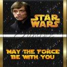 Star Wars Faux Inspired Luke Skywalker ~ Standard 1.55 oz Candy Bar Wrapper  SOE