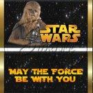 Star Wars Faux Inspired Chewbaca ~ Standard 1.55 oz Candy Bar Wrapper  SOE