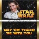 Star Wars Faux Inspired Princess Leia ~ Standard 1.55 oz Candy Bar Wrapper  SOE