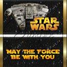 Star Wars Faux Inspired Millennium Falcon ~ Standard 1.55 oz Candy Bar Wrapper  SOE