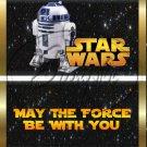 Star Wars Faux Inspired R2-D2 ~ Standard 1.55 oz Candy Bar Wrapper  SOE