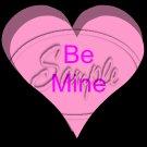 Conversation Hearts Pink ~ Valentine's Day ~ Cupcake Toppers ~ Set of 1 Dozen