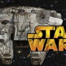 Star Wars Faux and Inspired By Millennium Falcon ~ Gallon Can Set