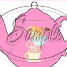 Pink Teacup Tea Party ~ Teapot Treat Tote