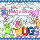 Hug Bug Aqua ~ Valentine's Day & General Love ~ Gallon Can Set