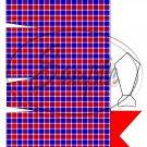 Red & Blue Plaid Dress Shirt ~ Pinch Box EACH