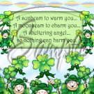 Irish Wish ~ St. Patrick's Day  ~ Gallon Can Set