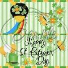 Lucky Irish ~ St. Patrick's Day ~ Treat Bag Topper