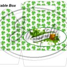 Happy St. Patrick's Day Banner  ~ Gable Gift or Snack Box