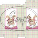 Baby Girl Easter Bunny  ~ Pinch Box