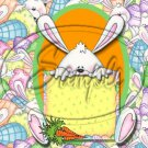 Easter Bunny Frame ~  Alphabet MINI Candy Bar Wrapper