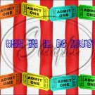"""Where Are All The Clowns ~ Horizontal  ~ 6"""" X 8"""" Foil Pan Lid Cover"""