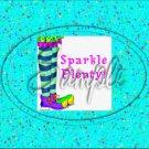 """Sparkle ~ Horizontal  ~ 6"""" X 8"""" Foil Pan Lid Cover"""