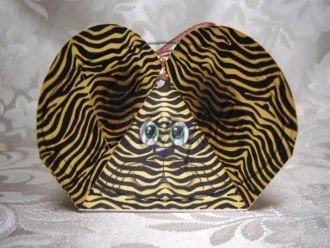 Leopard ~ 3 Dimensional 3D Goodie Animal Box