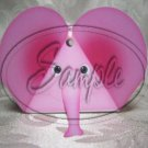 Pink Elephant ~ 3 Dimensional 3D Goodie Animal Box