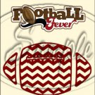 "Football Fever ~ Vertical  ~ 6"" X 8"" Foil Pan Lid Cover"