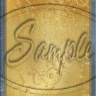 "Gold Embossed ~ Vertical ~ 6"" X 8"" Foil Pan Lid Cover"