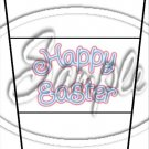 Pastel Checkered Easter #3 ~ Gift Card Holder Latte` Cup