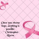 Choose Hope Breast Cancer ~  Treat Bag Topper 1 Dozen