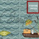 Gone Fishing  #2 ~ Post It Note ® Cover