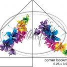 Colorful Lilies Corner Bookmark