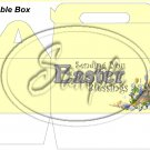 Yellow Easter Blessings ~ MINI Gable Gift or Snack Box