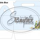 Blue Easter Blessings ~ MINI Gable Gift or Snack Box
