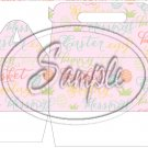 Easter Collage Pink ~ Gable Gift or Snack Box