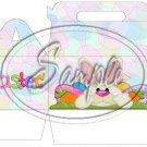 Easter Eggs ~ MINI Gable Gift or Snack Box
