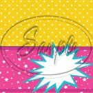 Barbie Power Yellow ~ Treat Bag Topper Each