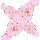 Pink Dress ~ Party Favor Totes, Bags & Boxes EACH