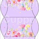 Lavender Wild Flowers ~ Pillow Treat Gift Box 1 Dozen