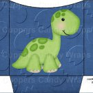 Dinosaur Dark Blue #2 ~ Cookie Pouch ~ Sleeve EACH