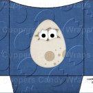 Dinosaur Dark Blue #3 ~ Cookie Pouch ~ Sleeve DOZEN